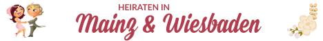 Hochzeit & Heiraten in Mainz, Wiesbaden, Rheinland-Pfalz