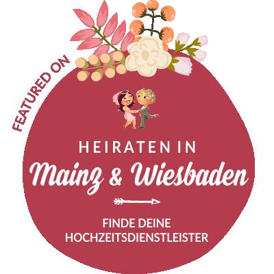 Featured auf Hochzeit & Heiraten in Mainz, Wiesbaden, Rheinland-Pfalz